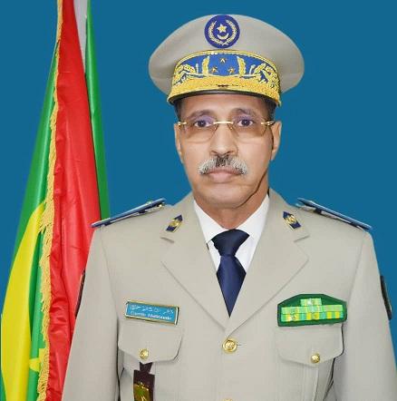 الفريق مسغارو ولد لغويزي قائد أركان الحرس الوطني